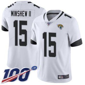 Jaguars Gardner Minshew II 100th Season Jersey